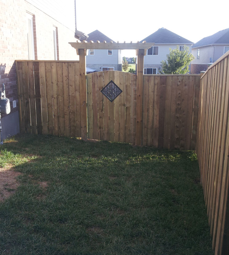 Wood Fences | Mike Litke Contracting